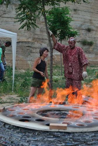 Domadores de fuego 2010. Horno de Chisato Kuroki y Federico Mongars
