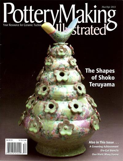 portada de la revista Pottery Making Illustrated