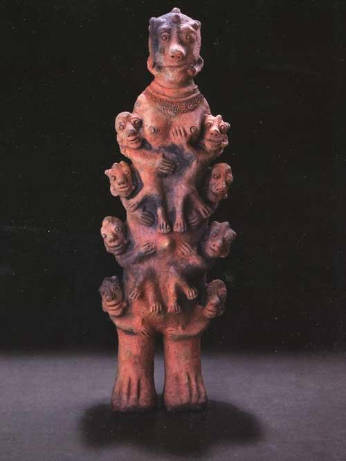 escultura de terracota