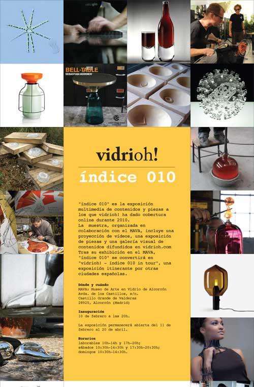 Exposición de vidrio contemporáneo en el MAVA