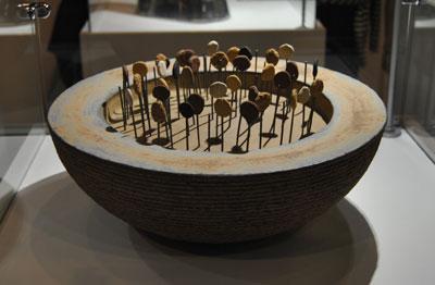 Pieza de cerámica de Ana Lousada