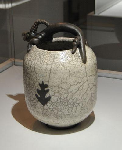 Pieza de cerámica contemporánea de Xana Monteiro